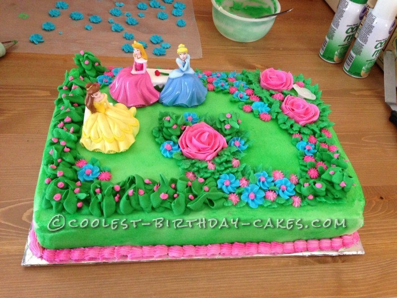 barbie birthday cake hong kong - Garden Design Birthday Cake
