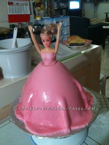 Coolest Princess Doll Cake