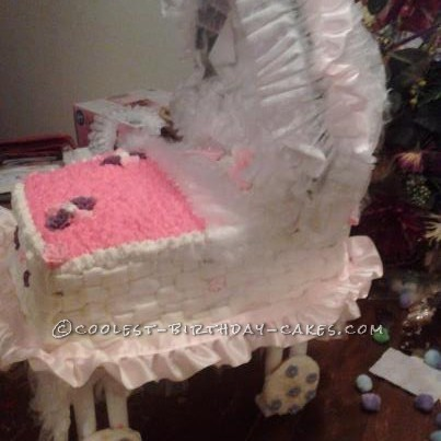 Rock a Bye Baby Carriage Cake