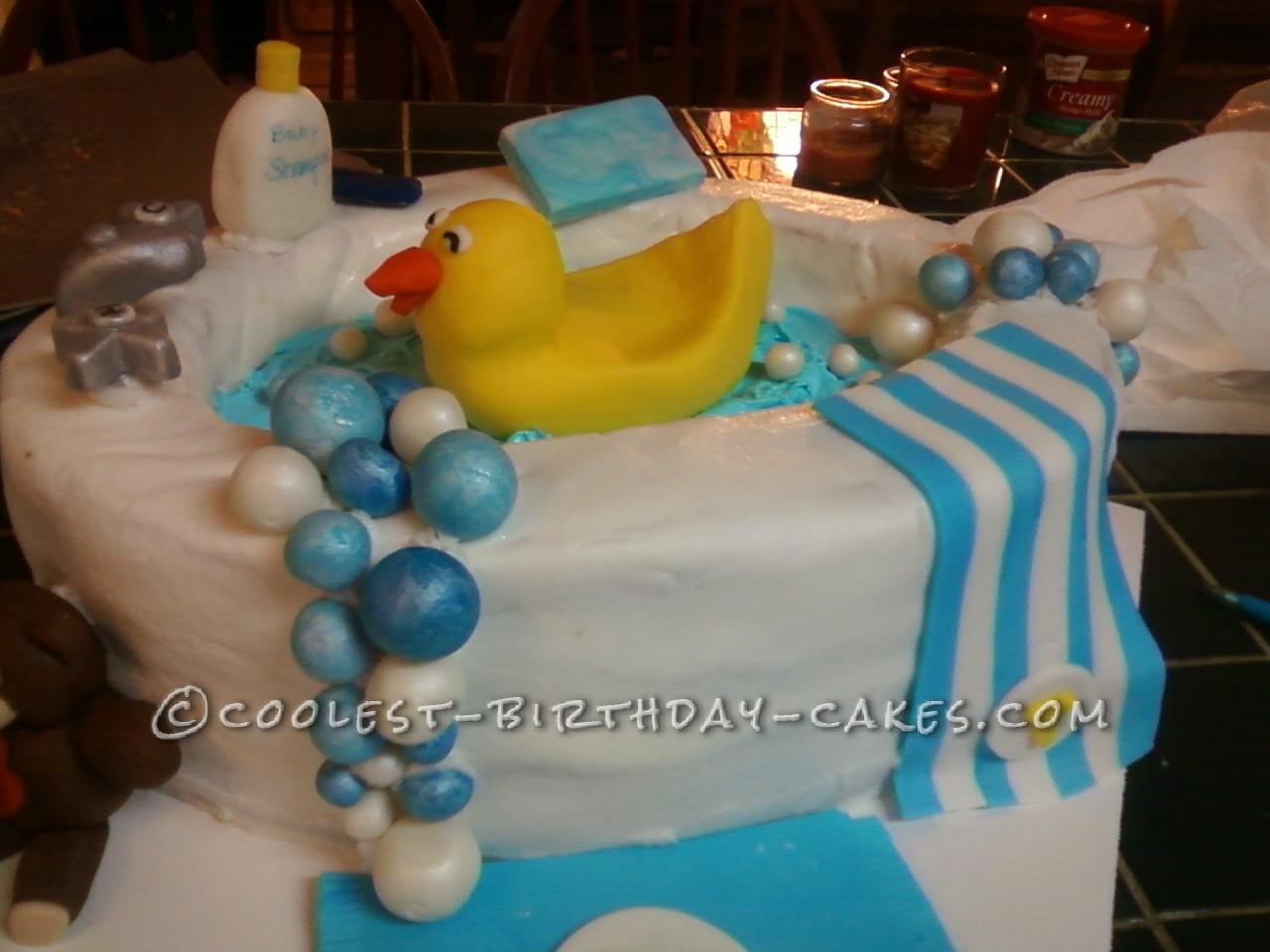 Coolest Rub-a-Dub-Dub Baby Shower Cake