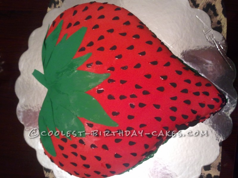 Sophisticated Strawberry Cake