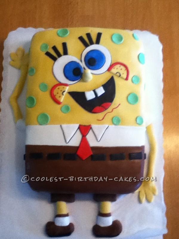 Coolest Sponge Bob Cake