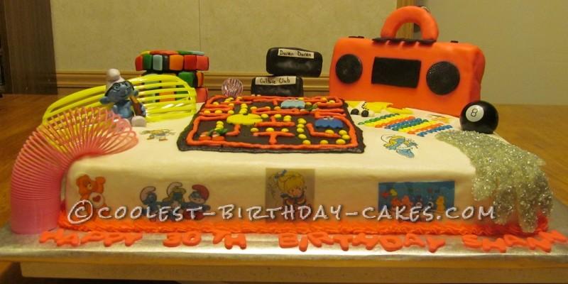 Super Cool 80's Cake