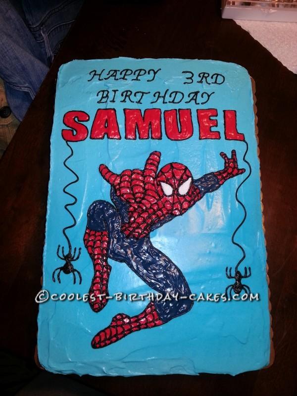 Sweetest Spiderman Cake