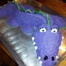 Who Wouldn't Want a Purple Escalator Cake?