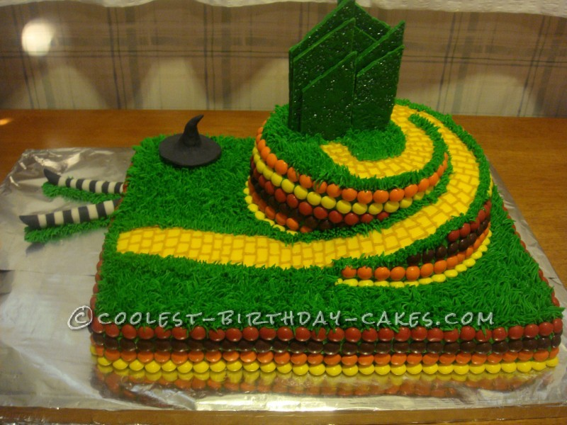 Coolest Wizard of Oz Birthday Cake