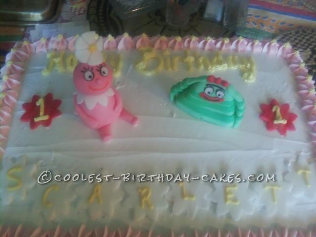 Foofa and Brobee Yo Gabba Gabba Cake