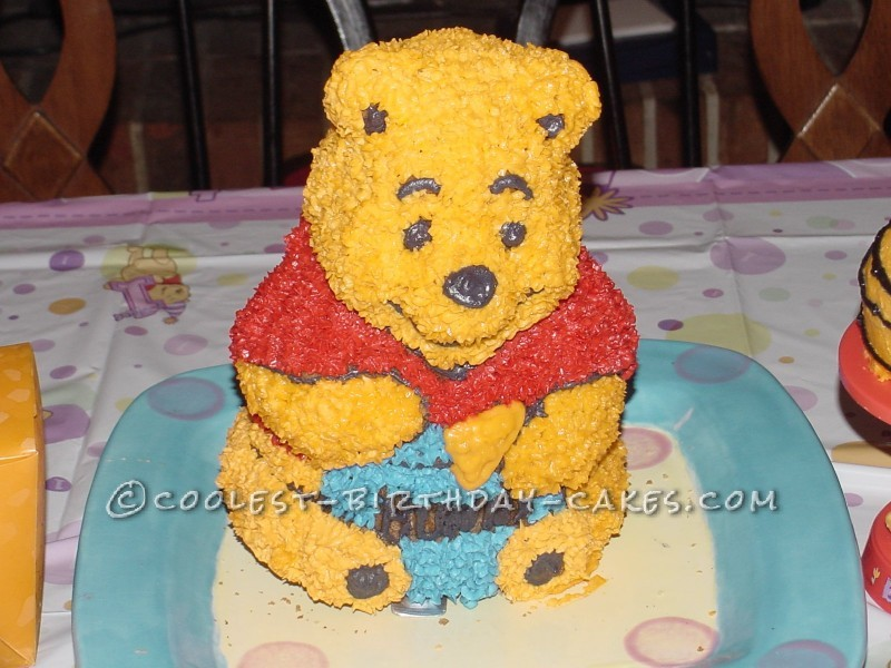Coolest 3D Winnie the Pooh Cake