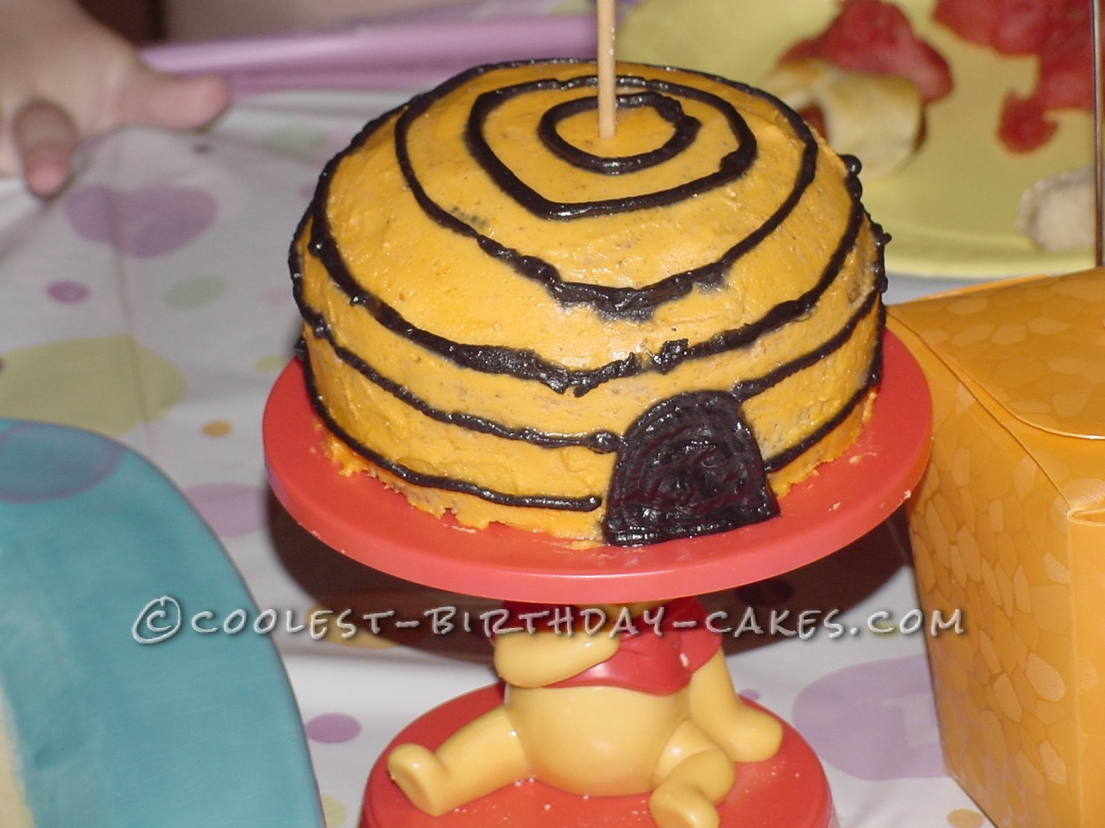 Coolest 3D Winnie the Pooh Cake