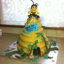 Coolest Bee Movie Cake