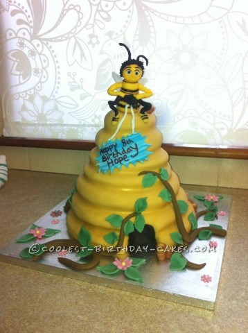 Coolest Bee Movie Cake