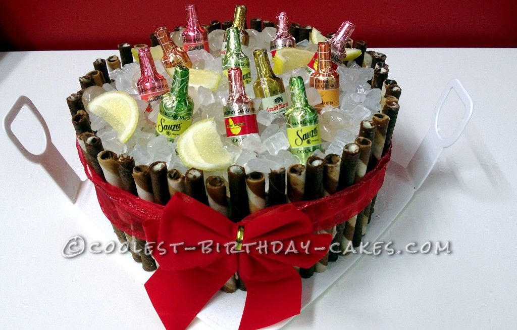 Coolest Beer Bucket Cake