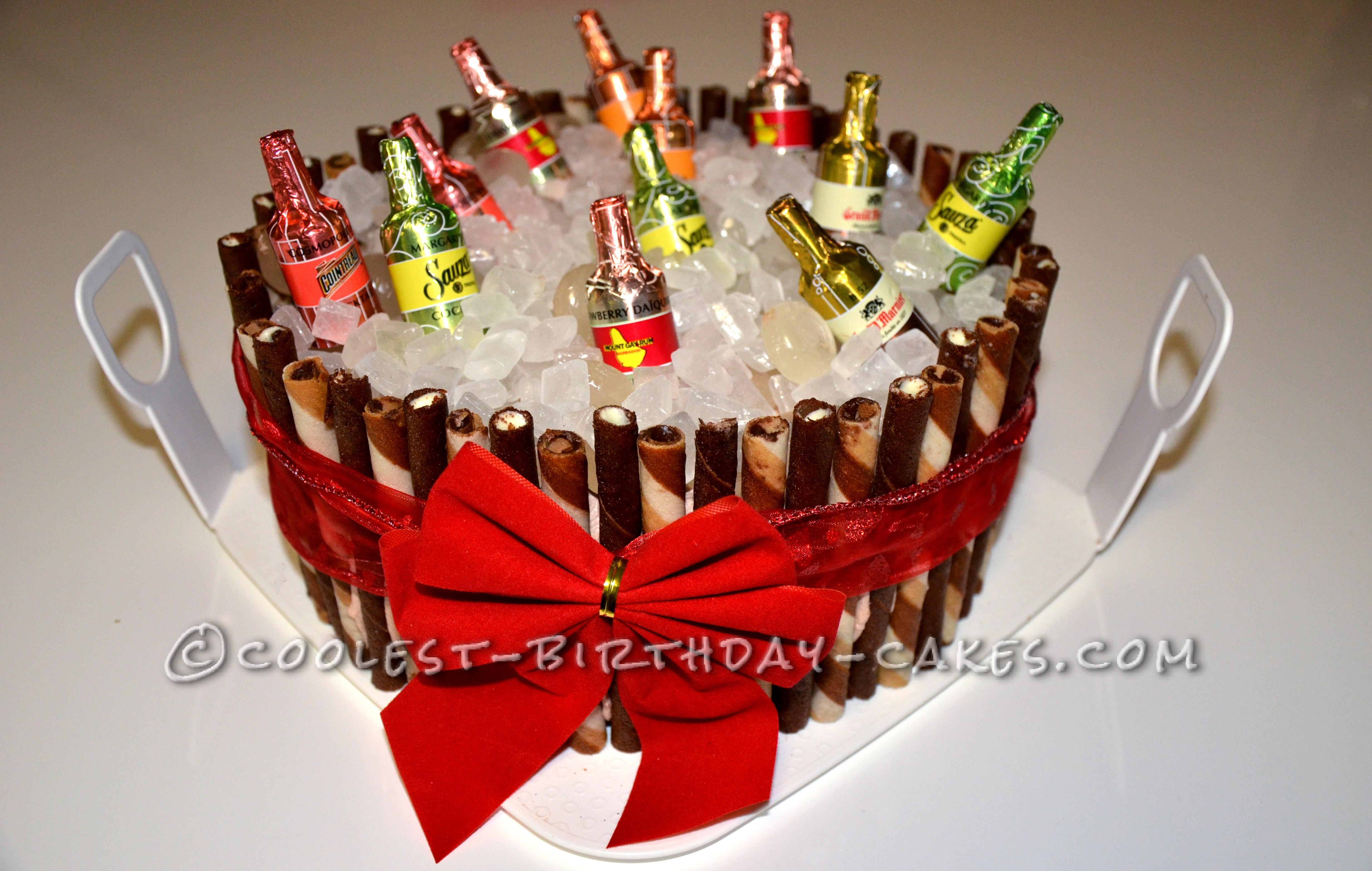 Coolest Beer Bucket Cake