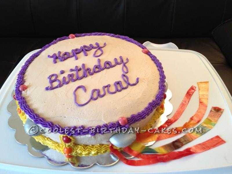 Carol's Tambourine Birthday Cake