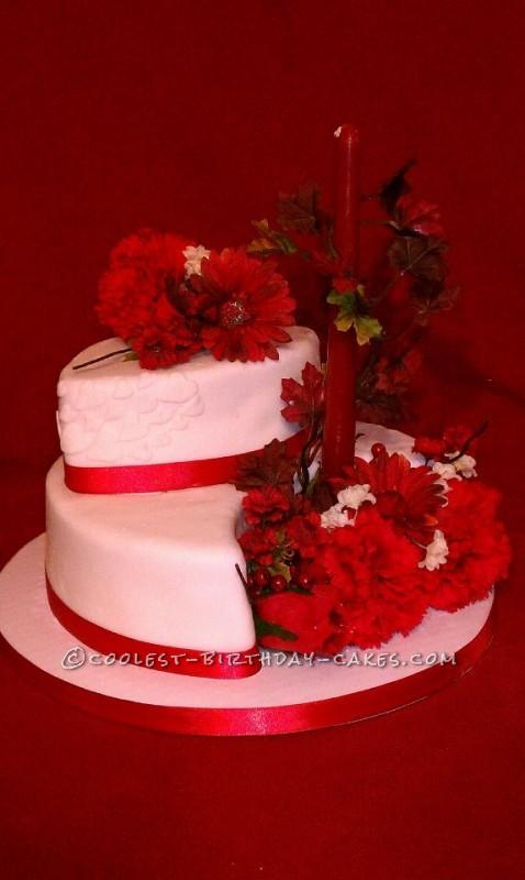Coolest Red Velvet Anniversary Cake