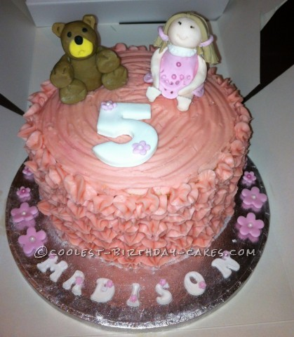 Coolest Bear and Doll Cake