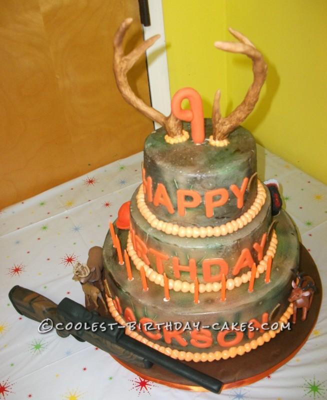 Camouflage Hunting Cake Ideas 51269 Camo Birthday Cake Ide