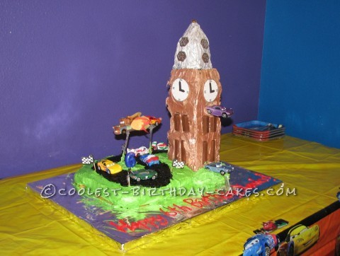 Coolest Cars 2 Cake