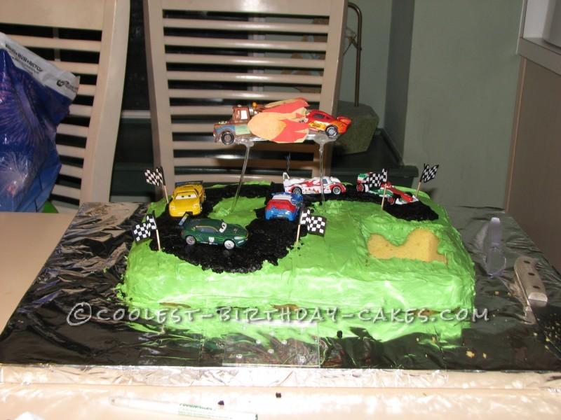 Coolest Cars 2 Cake - 1
