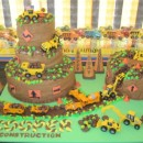 Coolest Construction Birthday Cake