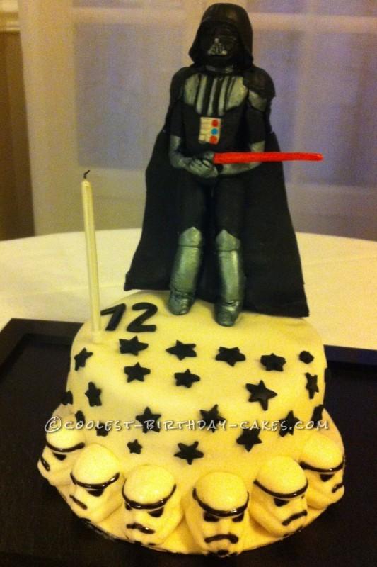 Coolest Darth Vader Birthday Cake