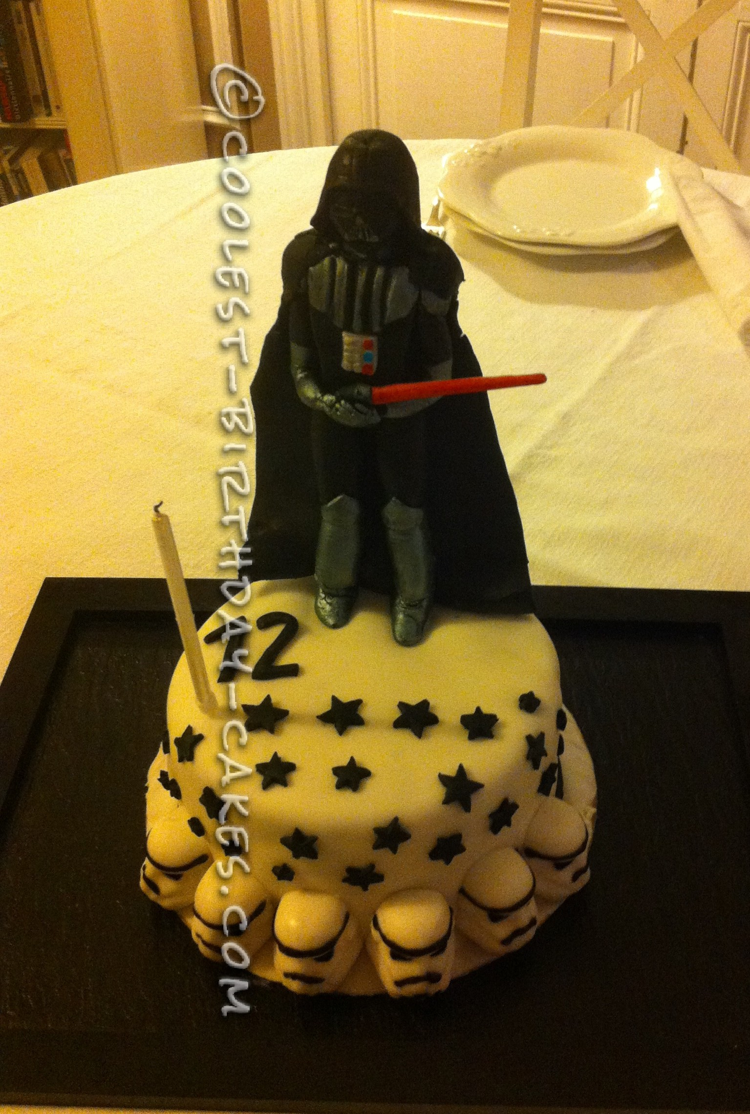 Coolest Darth Vader Birthday Cake