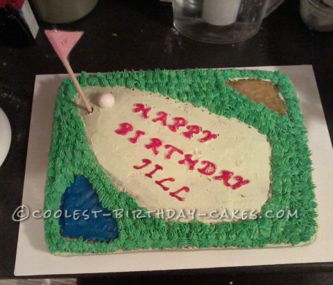 Coolest Golf Cake