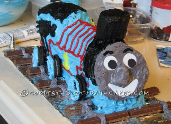 Coolest Hiro Train Birthday Cake