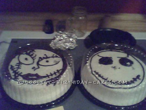 Coolest Jack and Sally Cakes for my 16th Birthday