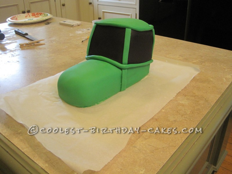 Coolest John Deere Tractor Cake for 2 Year Old Boy