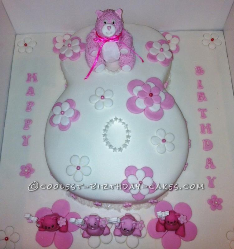 Coolest Number 8 Birthday Cake