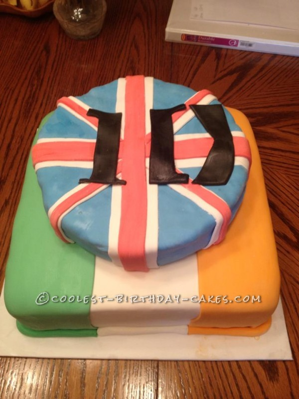 Coolest One Direction Cake