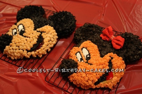 Coolest Mickey and Minnie Cakes