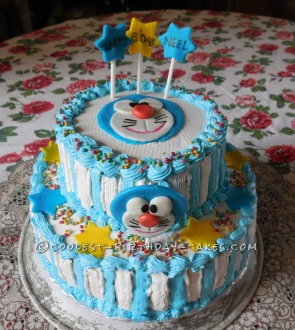 Coolest Doraemon Birthday Cake