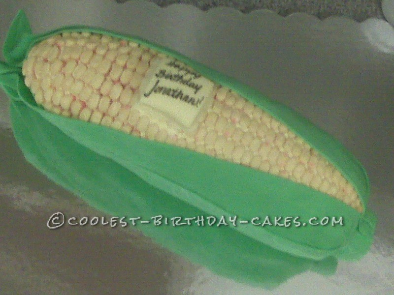 Coolest Ear of Corn Cake