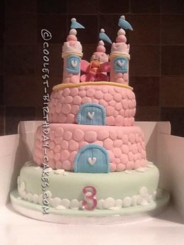 Coolest Fairy Princess Castle Cake
