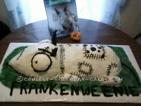 Awesome Frankenweeine Cake
