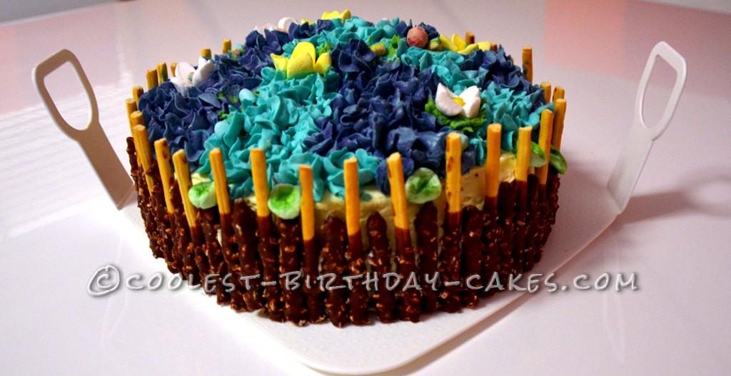 Coolest Hydrangea Cake