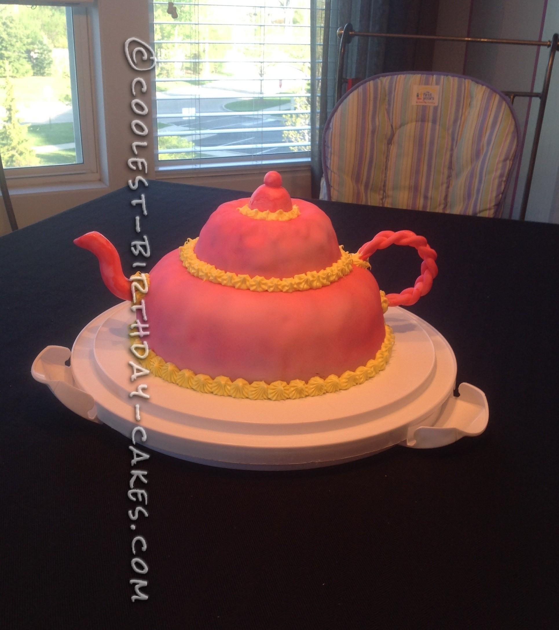 Coolest Little Tea Pot Cake