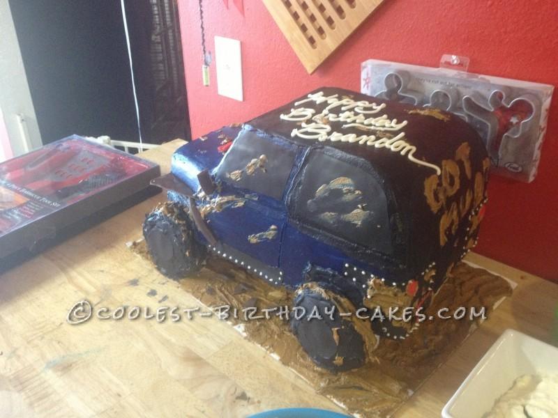 Coolest Jeep Birthday Cake