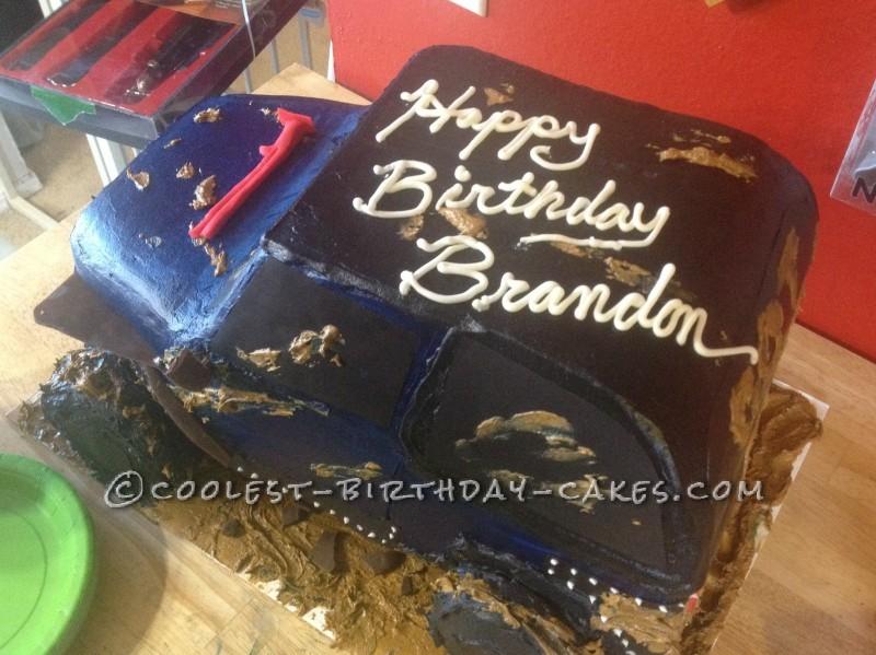 Awe Inspiring Coolest Jeep Birthday Cake Funny Birthday Cards Online Aboleapandamsfinfo