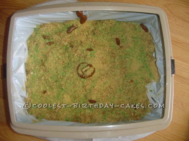 Coolest Kitty Litter Cake