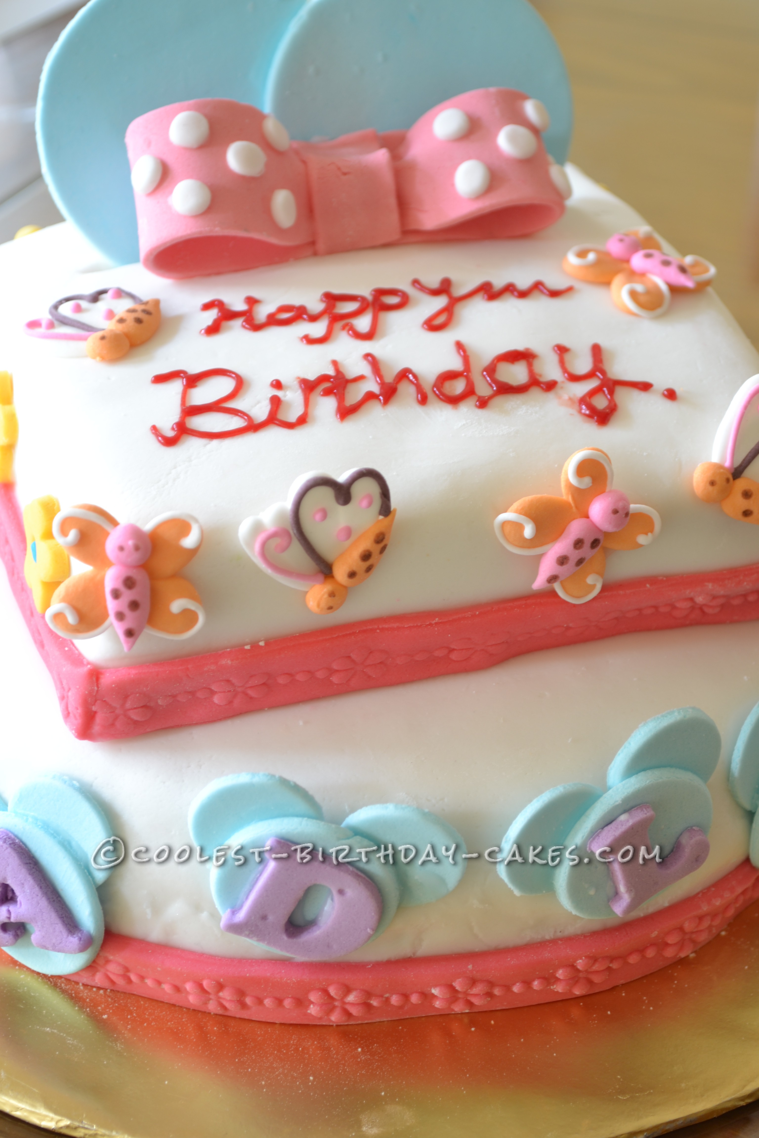 Coolest Minnie Mouse Cake