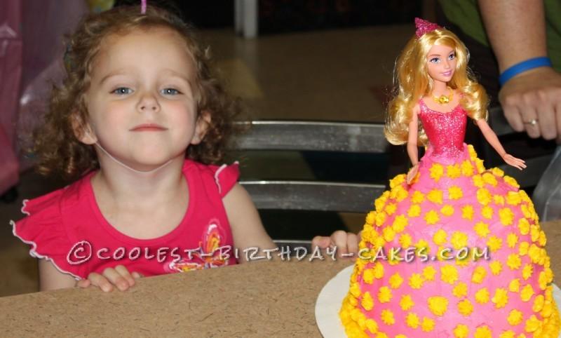 Coolest Birthday Princess Cake