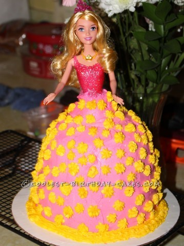 Coolest Birthday Princess Cake