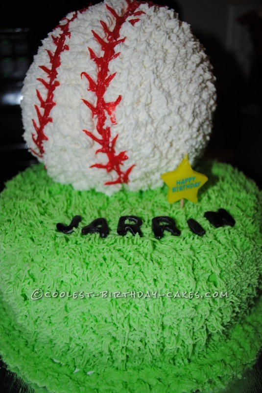 Coolest Baseball Birthday Cake