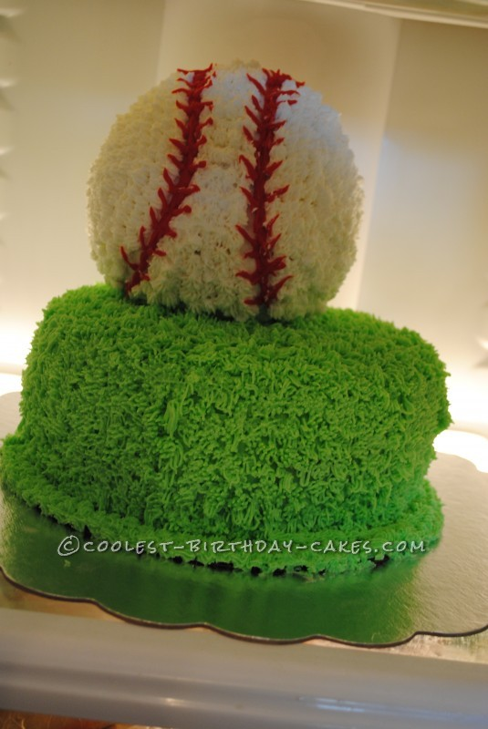 Coolest Baseball Birthday Cake