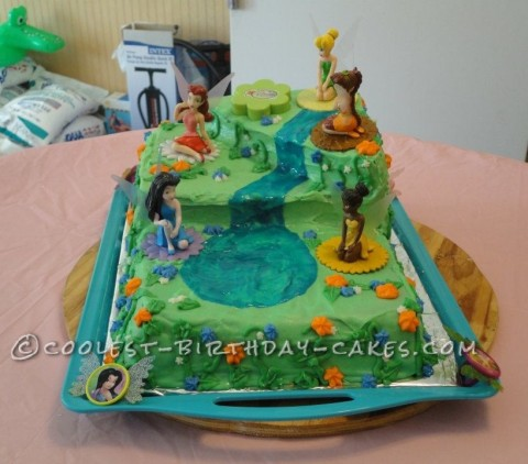 Coolest Disney Fairies Cake