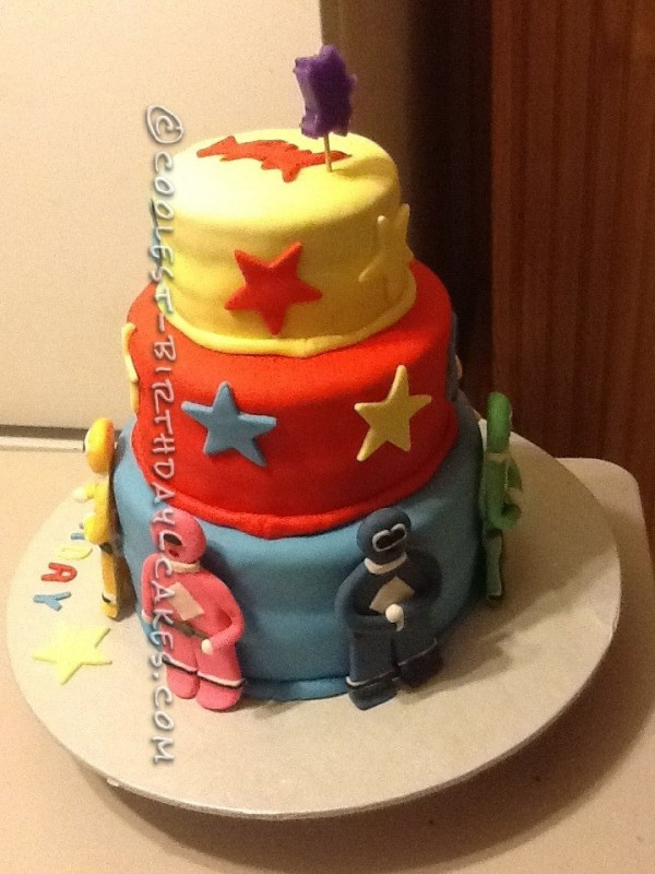 Coolest Power Ranger Cake