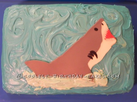 Realistic Shark Cake